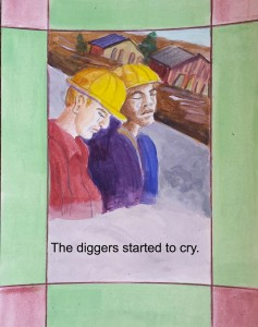 11 diggers cry